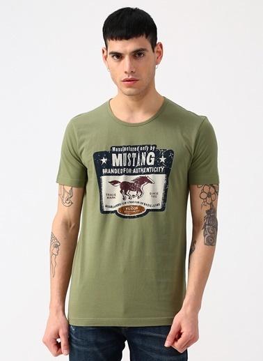 Mustang Tişört Yeşil